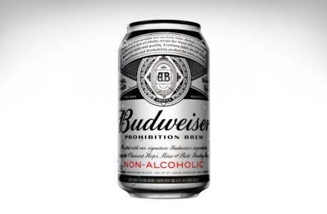Budweiser Prohibition Brew - Retro Beer