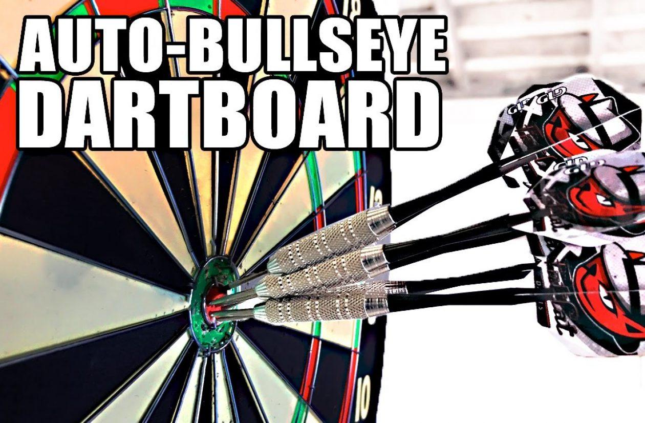 Automatic Bullseye MOVING Dartboard