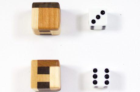 Boxwood Genius Hardwood Dice