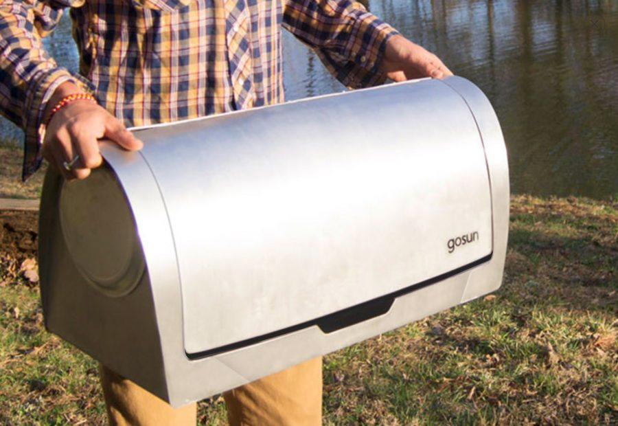 GoSun Solar Grill–The Good Life, Powered by the Sun