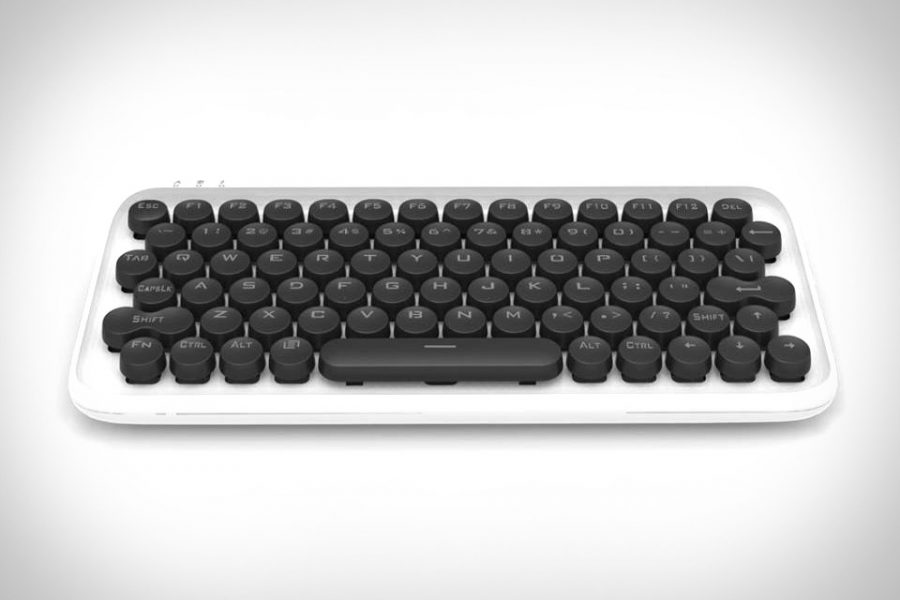 lofree: Typewriter-Inspired Mechanical Keyboard