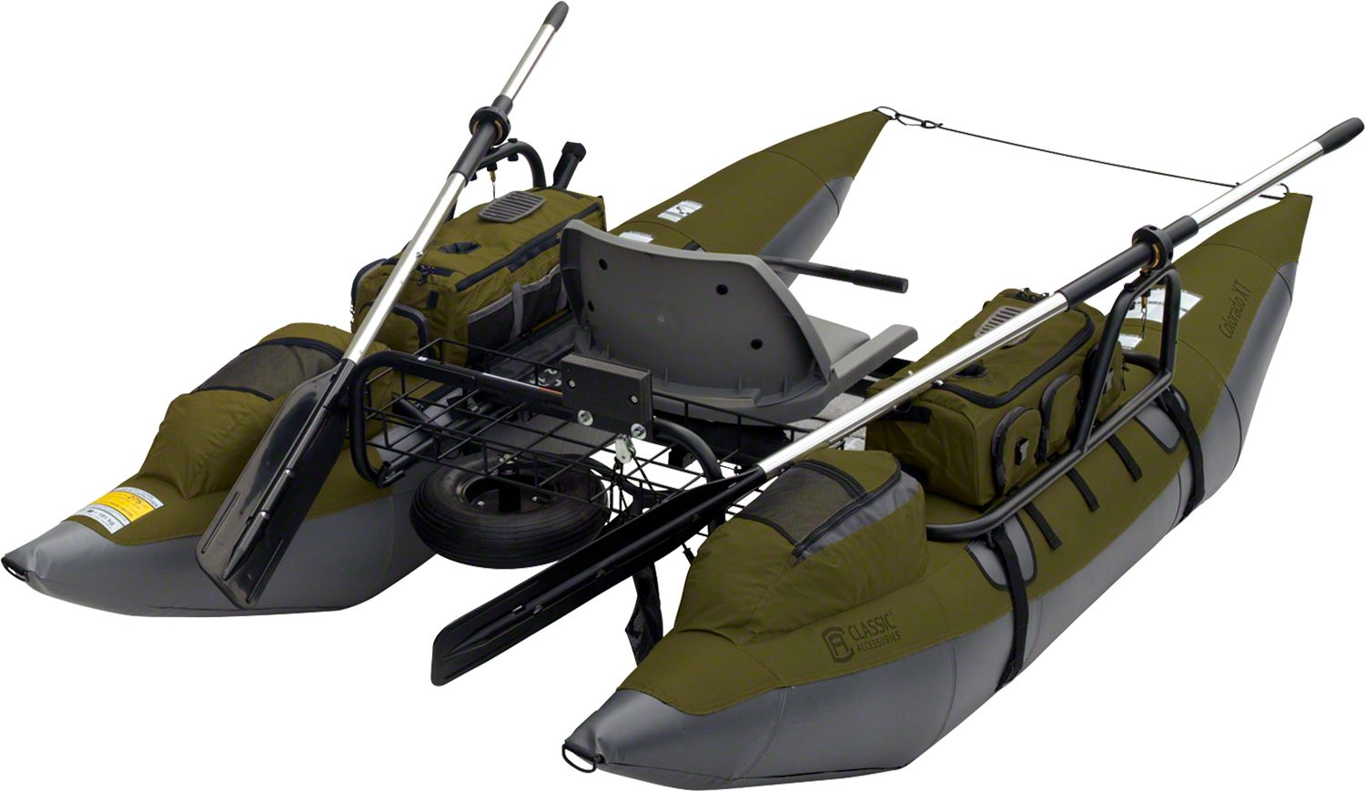 Classic Accessories Colorado XT Inflatable Pontoon Boat ...