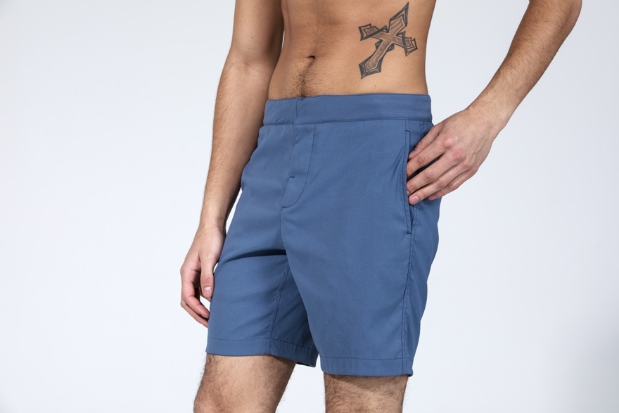 Outlier's Clean Way Men's Shorts With 21st Century Drawstring