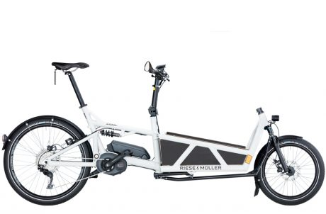 Load E-Cargo Electric Bike by Riese and Muller