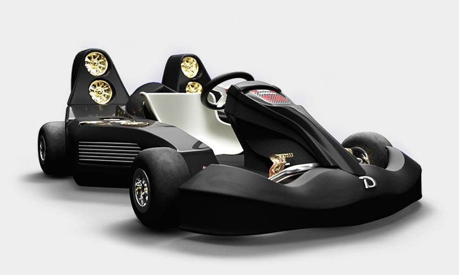 The Daymak Electric Go Kart – 0 to 60 in less then 1.5 seconds!