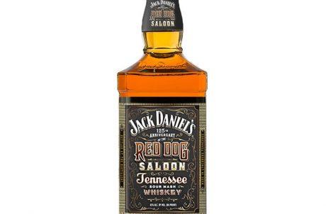 Jack Daniels Red Dog Saloon Front Bottle
