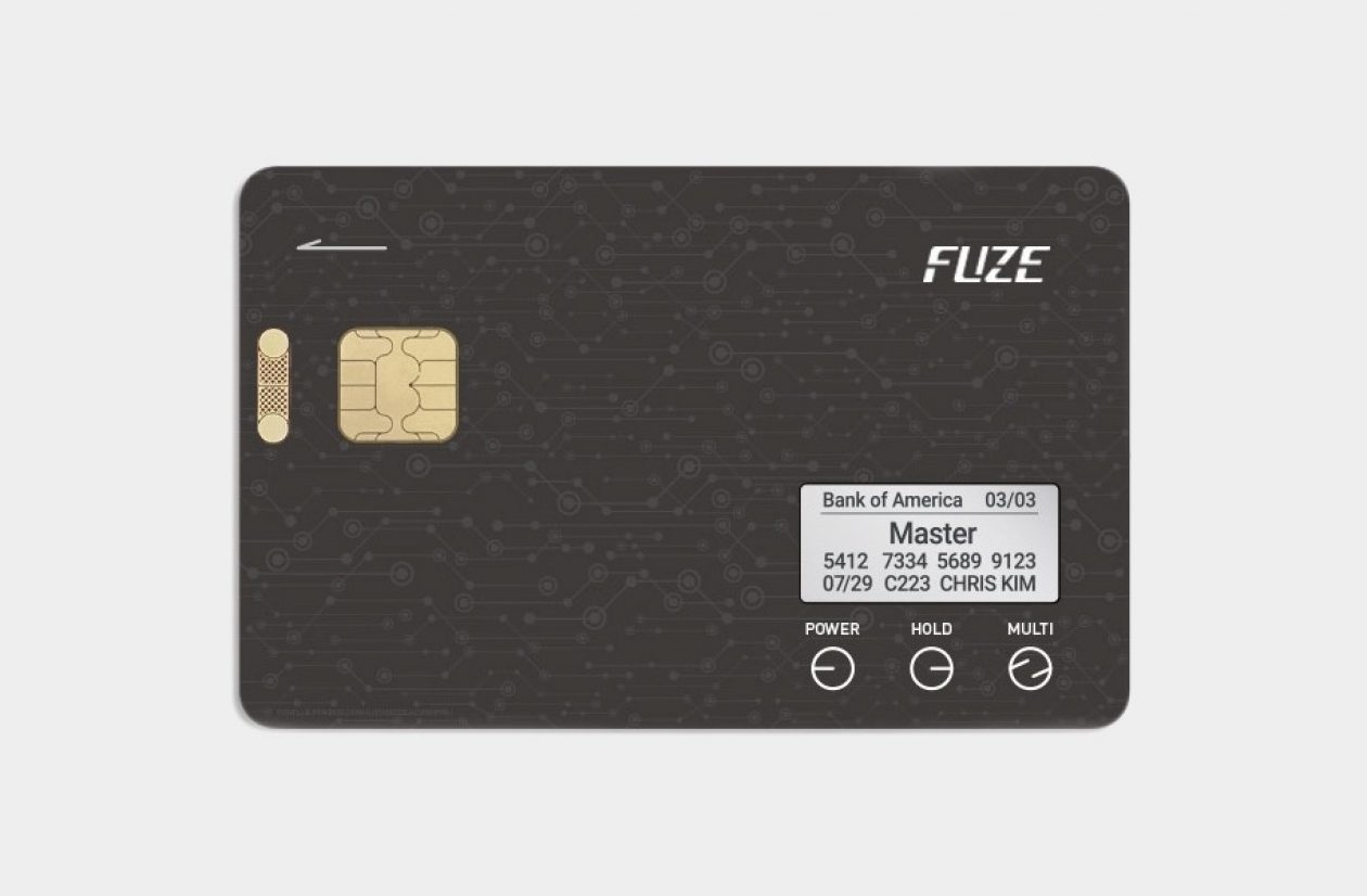 Fuze Card Smart Credit Card Main Shot