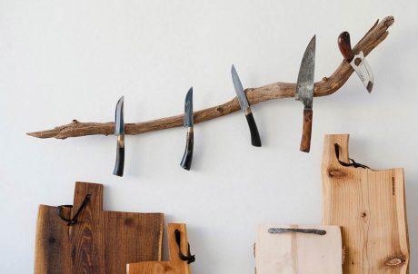 Messerast Knife Holder Dark