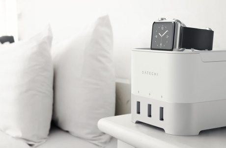 Satechi Smart Charging Stand white