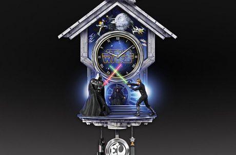 Star Wars Return of the Jedi Wall Clock Full