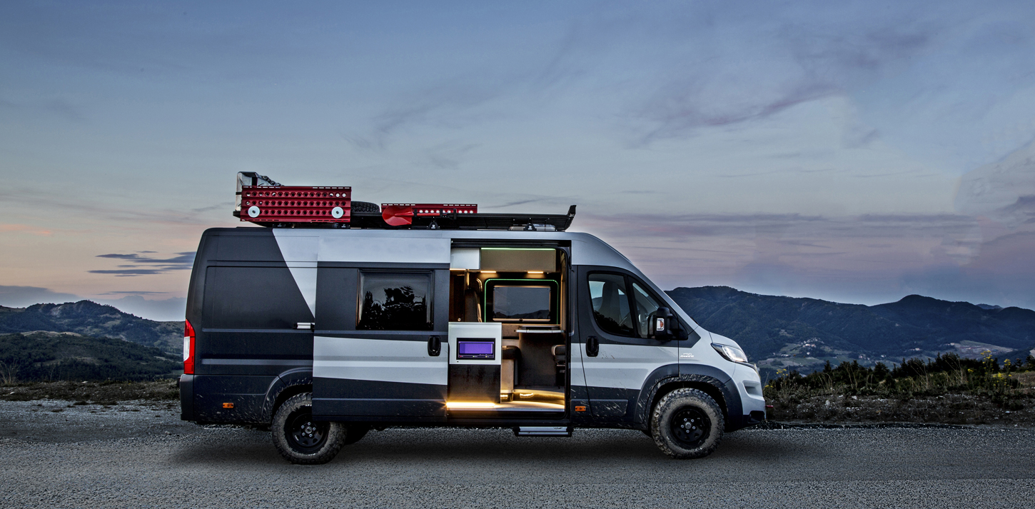 fiat ducato camper a uniquely european camper van. Black Bedroom Furniture Sets. Home Design Ideas
