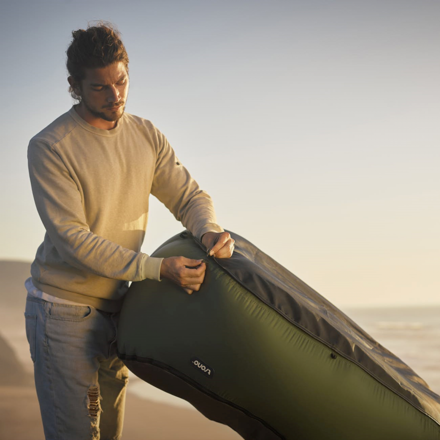 Trono is The Inflatable Camping Chair We've Been Waiting For