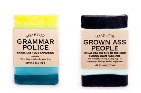 Whiskey River Soap Samples