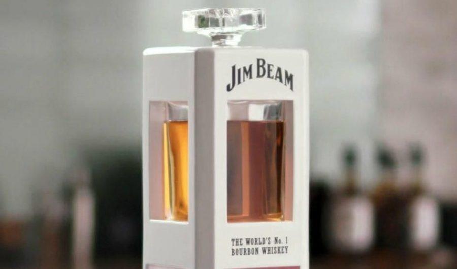 "Meet ""Jim""–Yes, a Jim Beam Smart Whiskey Decanter"