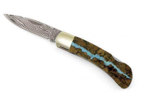 santa fe stoneworks turqoise vein blade