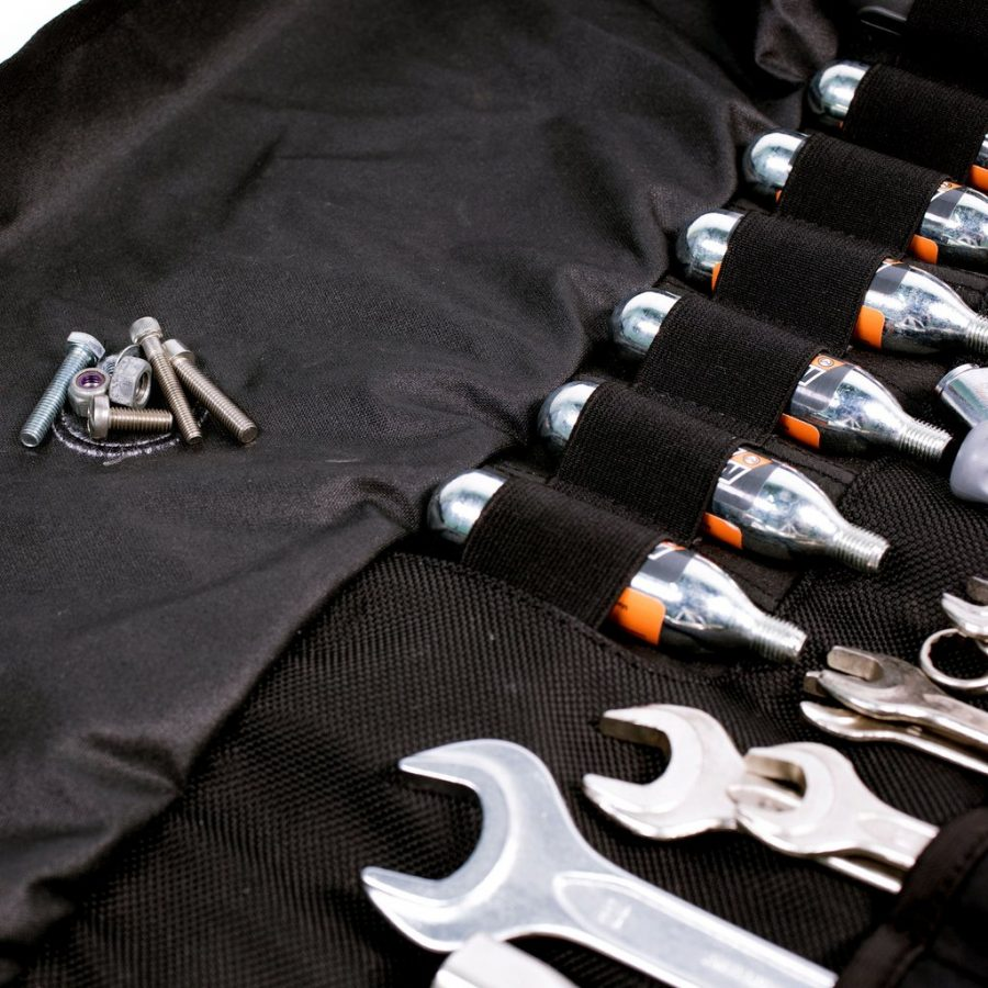 The Speedway Tool Roll from Velomacchi Every Moto Junkie Needs