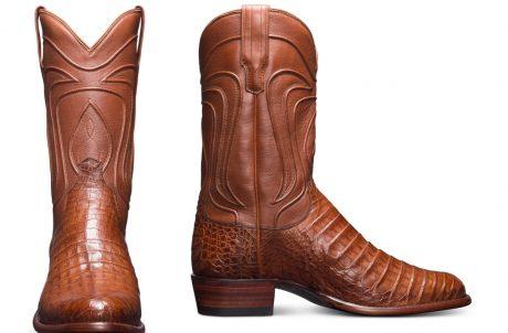 Tecovas-boots-pecan-caiman