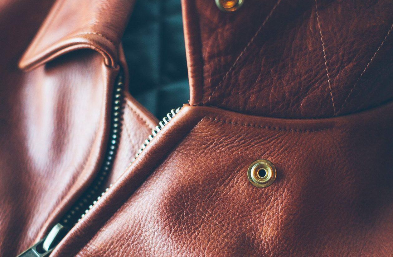 Taylor Stitch Moto Jacket Closeup