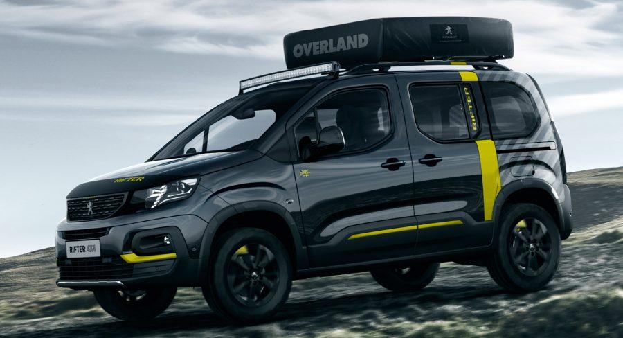 Check Out This Peugeot Rifter Adventure Van Concept Car