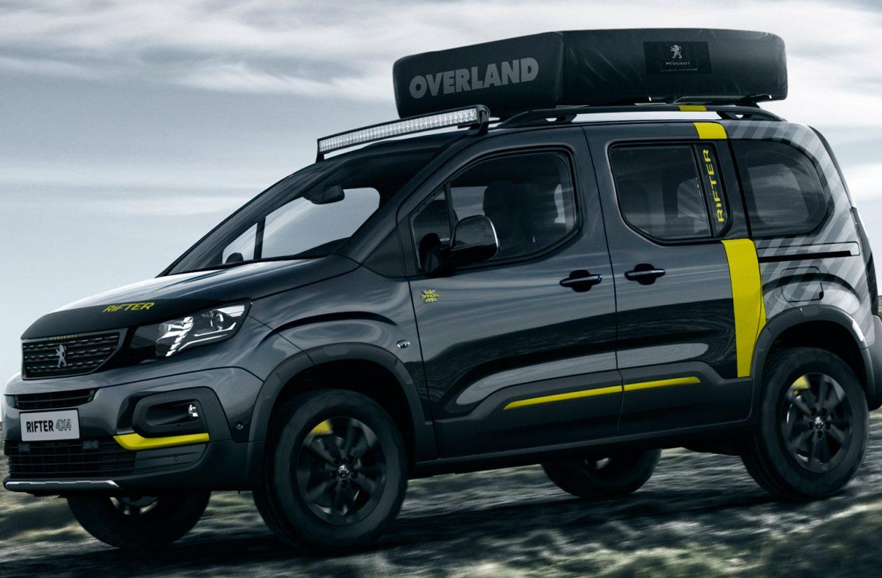 Peugeot Rifter 4x4 Van