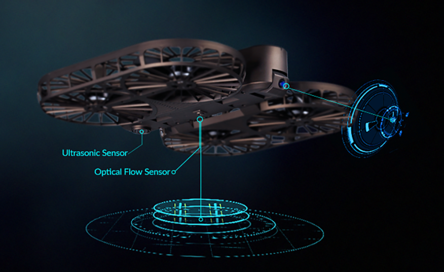 Moment Drone: The Foldable 4k Drone With Auto Tracking Selfie Mode