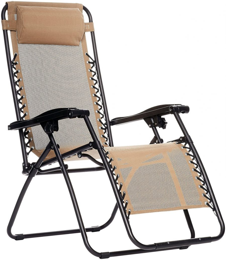 Check Out AmazonBasics' Zero Gravity Chair, The Most Comfortable Camping Chair in Existence