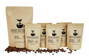 White Tale Coffee Bean Bags