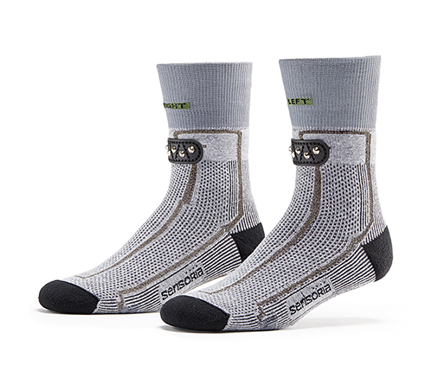 Sensoria Smart Running System: Smart Socks (and Shirt) With Integrated Sensors