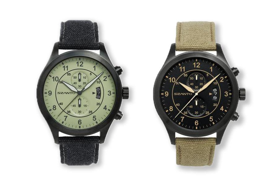 Szanto Classic Heritage Aviator Pilot's Watch: Vintage Style, Modern Build