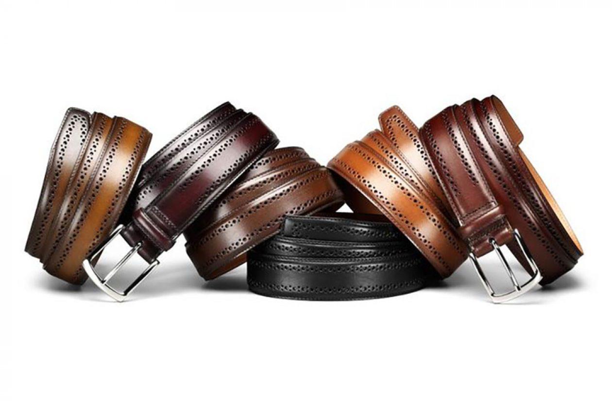 Allen Edmonds Manistee Belt Group