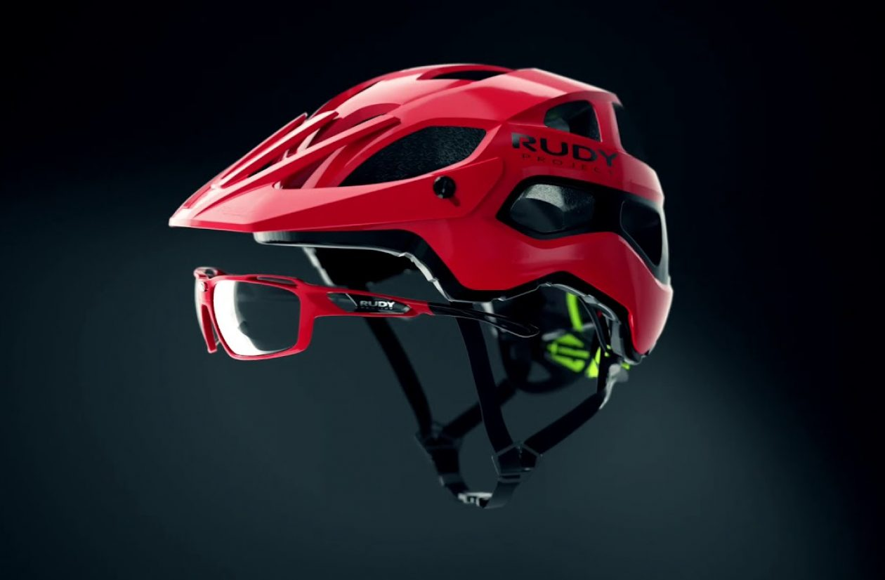 Rudy Project Protera Red Mountain Bike Helmet