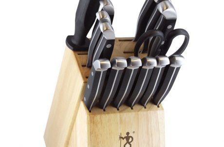 JA Henckels 15-Piece Kitchen Knife Set