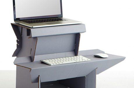 Spark Ergodriven Cardboard Standing Desk