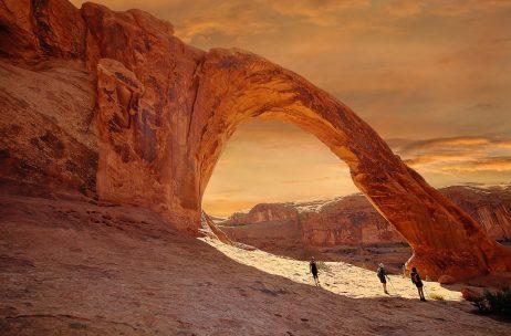 Corona Arch National Recreation Trails