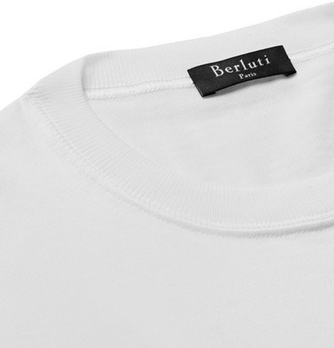 Is Berluti's $650 Silk T-Shirt The Most Expensive T-Shirt Ever? Probably Not Even Close.