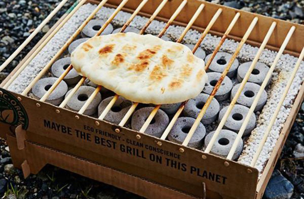CasusGrill Biodegradable Disposable Grill