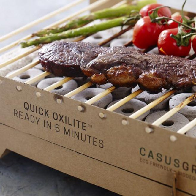 CasusGrill Is A BioDegradable Instant Grill