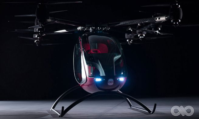 This Passenger Drone Is Like Having Your Own Personal Helicopter