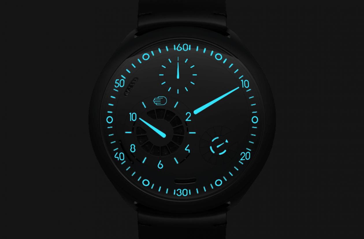 Ressence Type 2 Watchface Feature