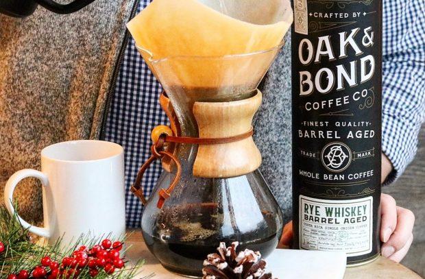 Oak and Bond Barrel Aged Coffee