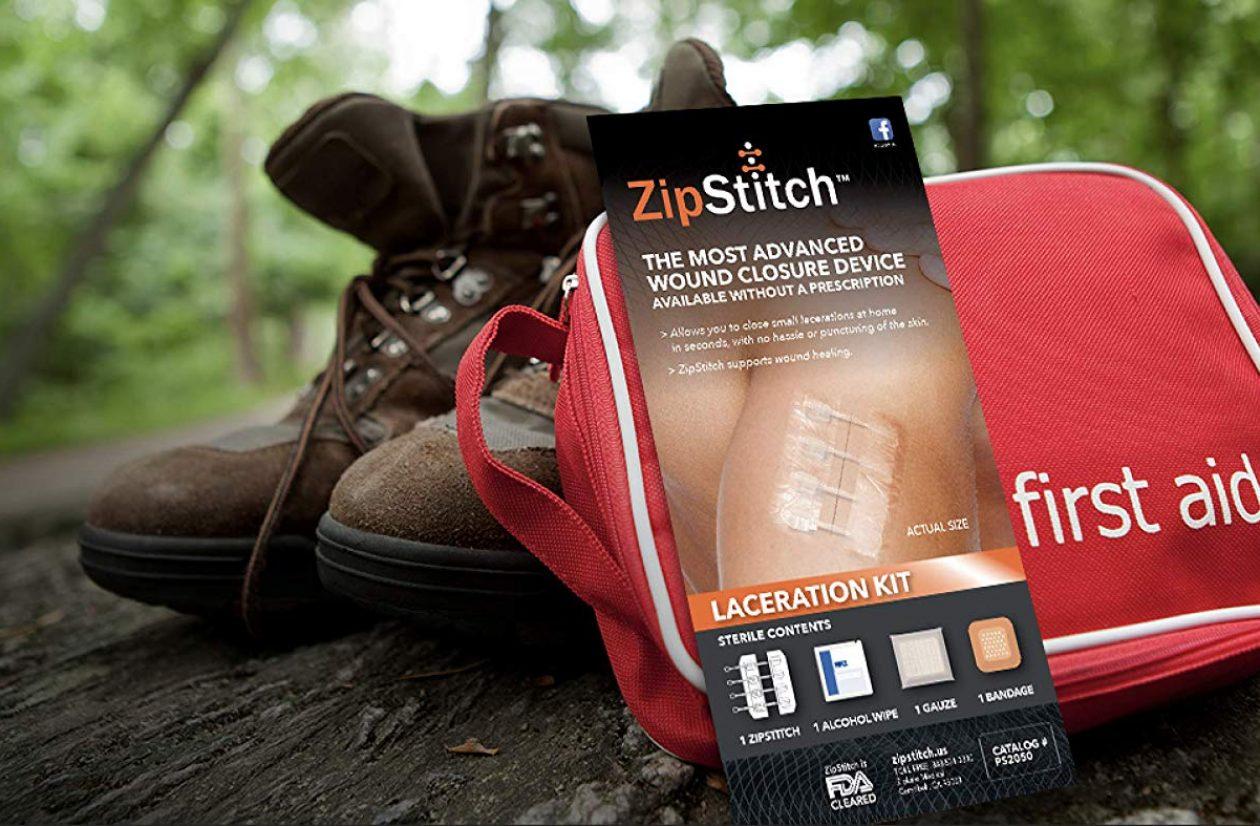 ZipStitch Wound Care Banner