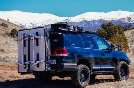 Hitch Tent Rack System Rubicon Banner