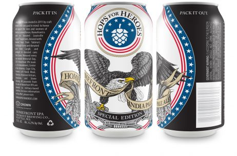 Hops for Heroes Homefront IPA