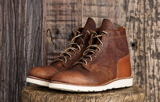The Roamographer Leather Boot Wraps Perfectly to Your Foot