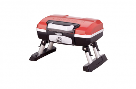 Grills Cuisinart CGG-180T Petit Gourmet Portable Tabletop Gas Grill, Red