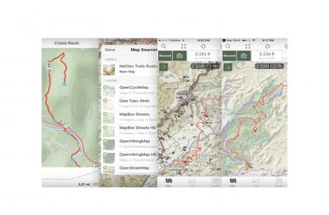 Gaia Hiking App